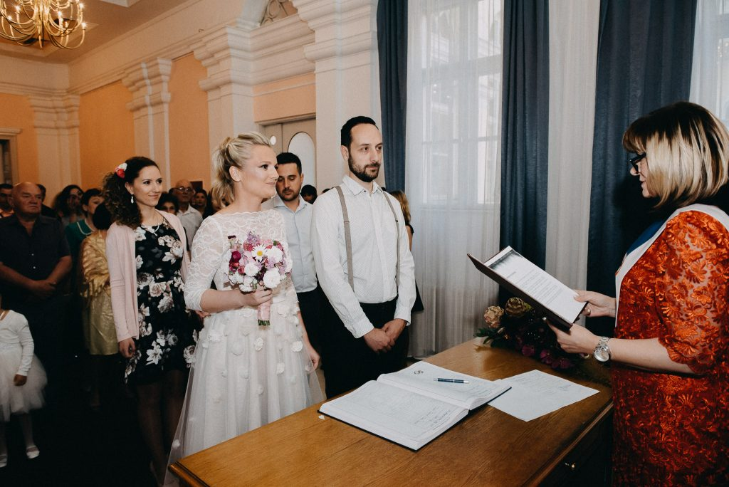 Wedding ceremony in Novi Sad