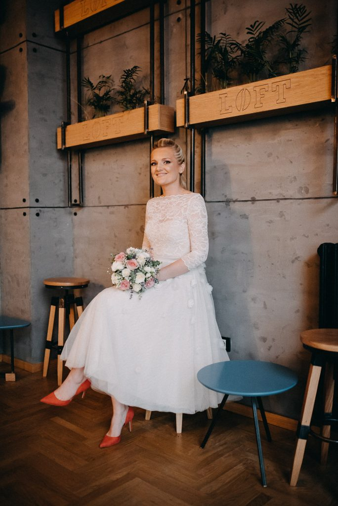 Bride in Loft Lounge and Bar Novi Sad