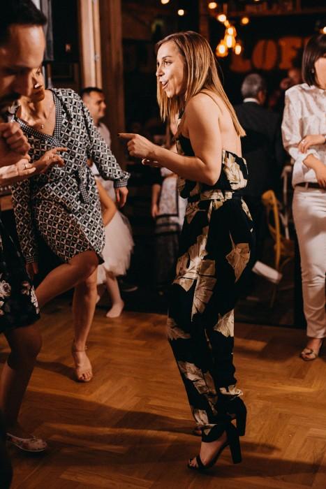 Girl dancing in Loft Lounge and Bar Novi Sad